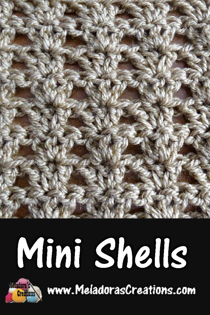 Mini Shells – Free Crochet Pattern
