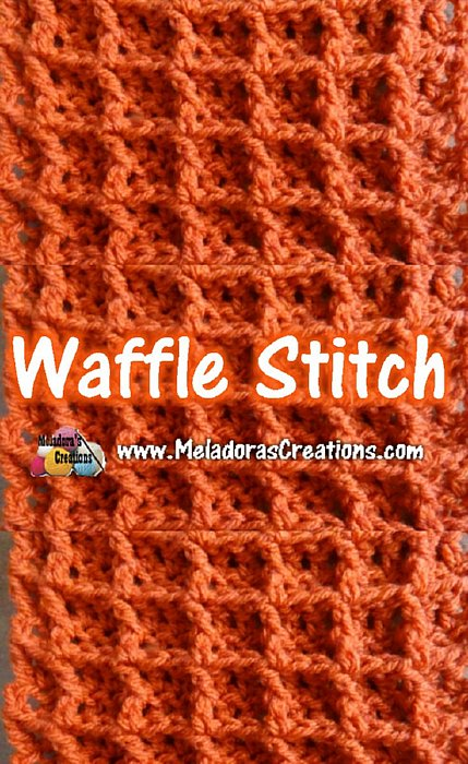 Easy Waffle Crochet Stitch Pattern and Tutorial
