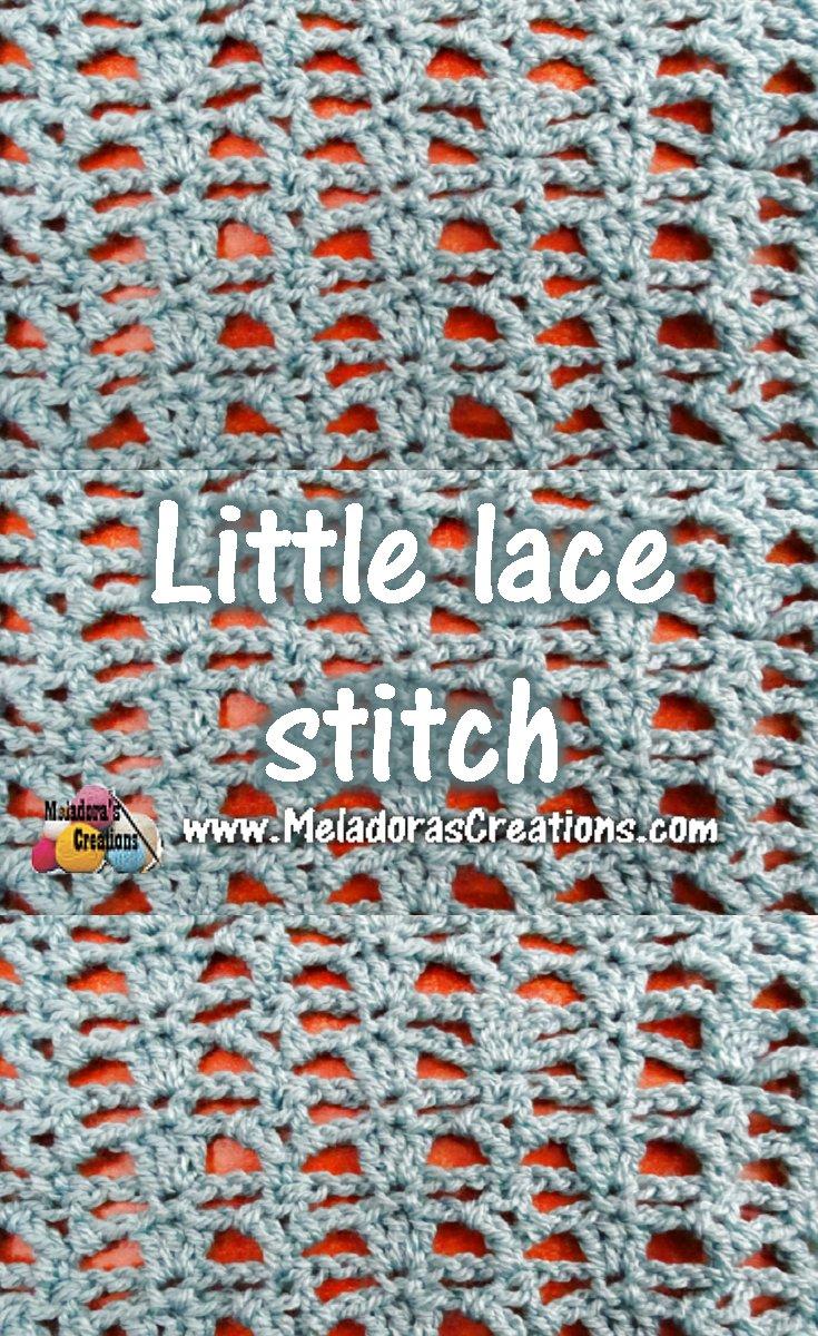 Little Lace Crochet Stitch Tutorials