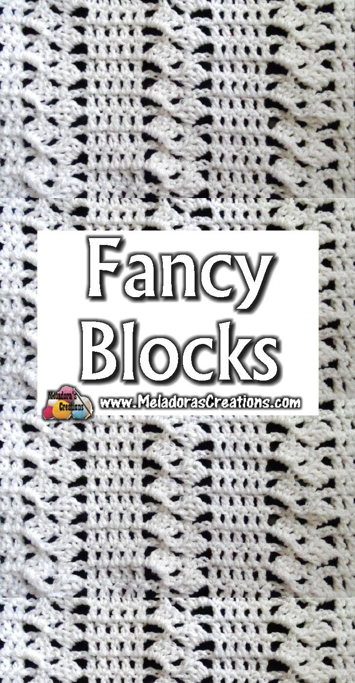 Fancy Blocks Crochet Stitch Tutorial