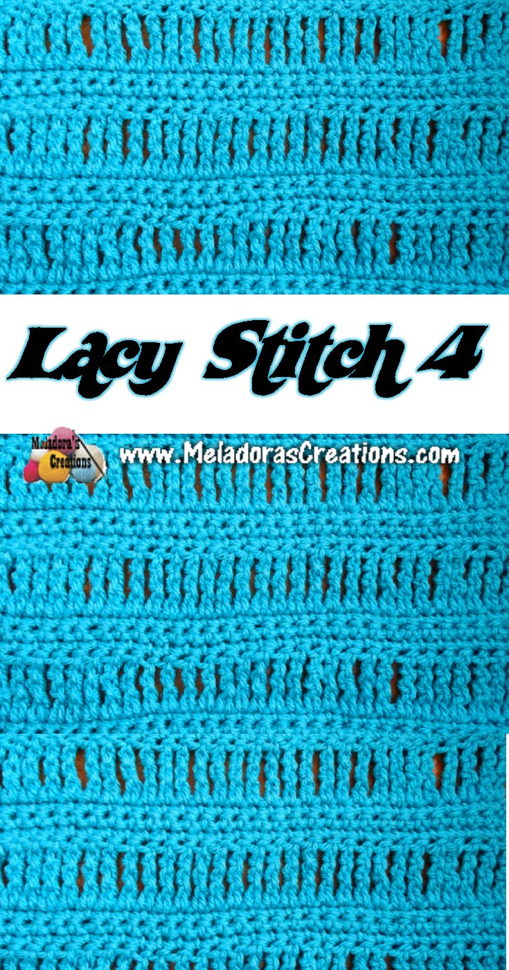 Lacy Crochet Stitch 4 - Crochet Tutorials