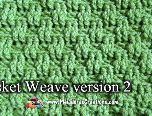 Basket Weave Stitch Version 2 – Crochet Stitch Tutorial
