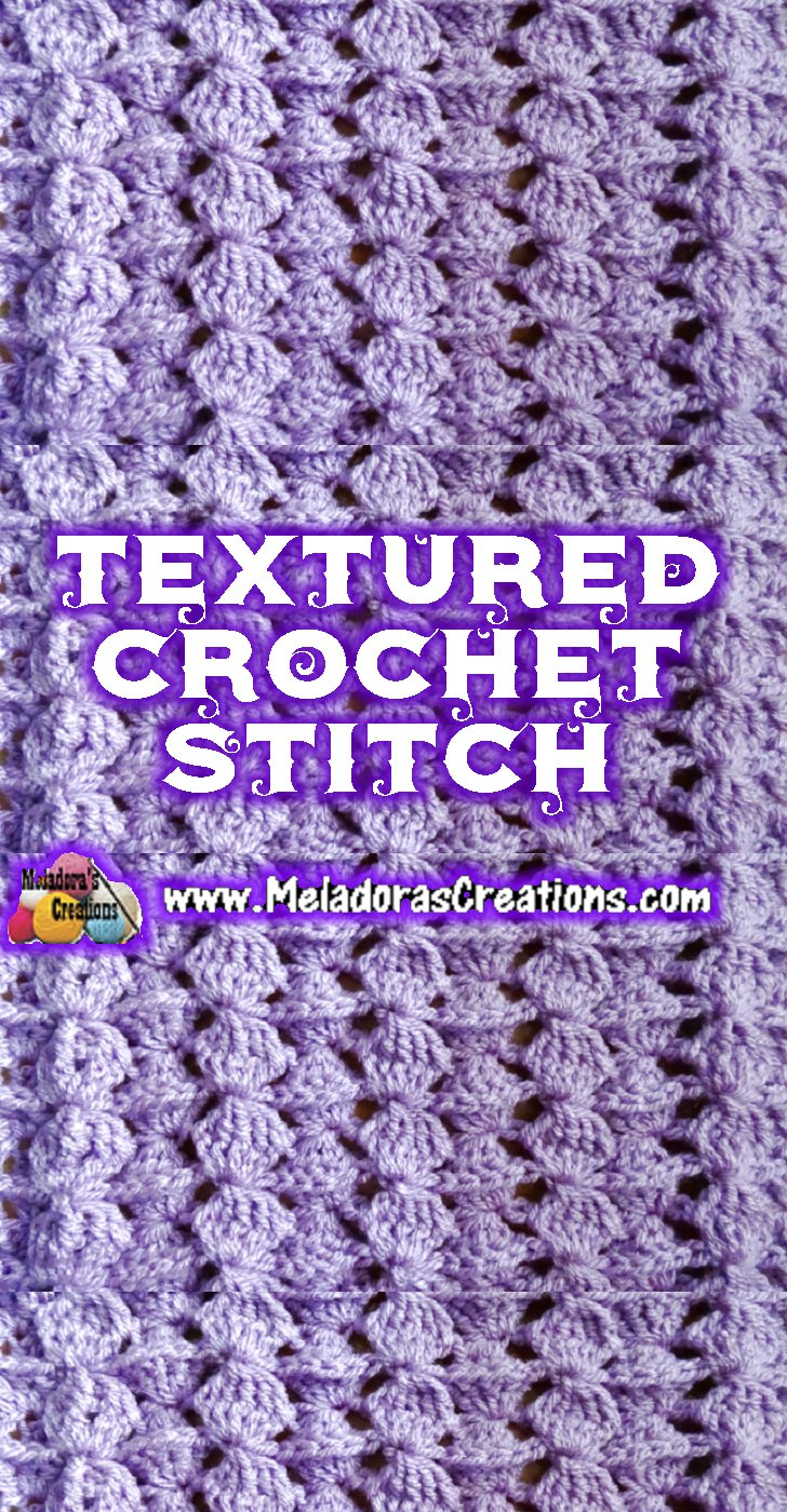 Textured Crochet Stitch Tutorials