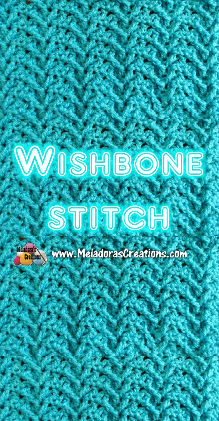 Wishbone Crochet Stitch Tutorials