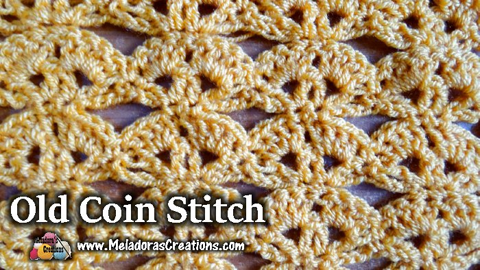 Amigurumi Stitch Tutorial : Meladoras creations old coin crochet stitch tutorials