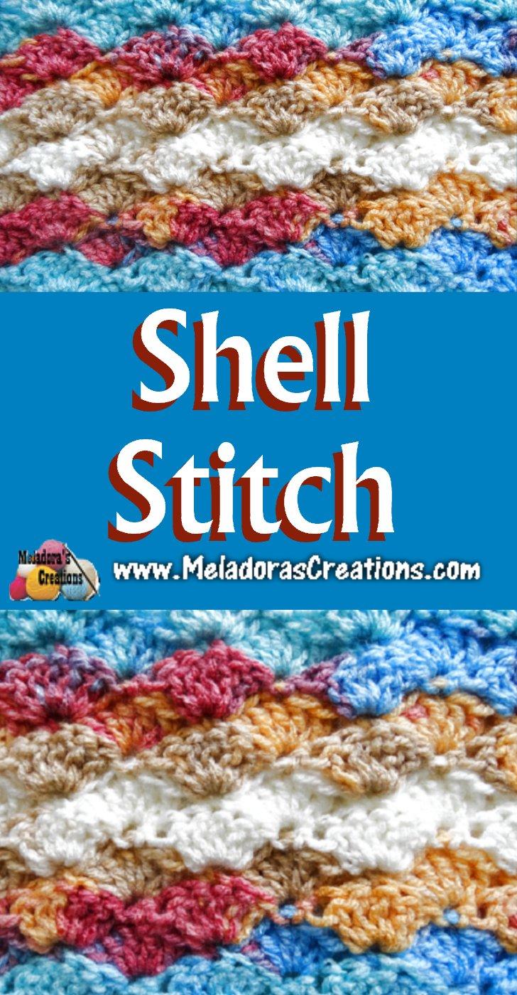 Shell Crochet Stitch - Crochet Pattern and Tutorials