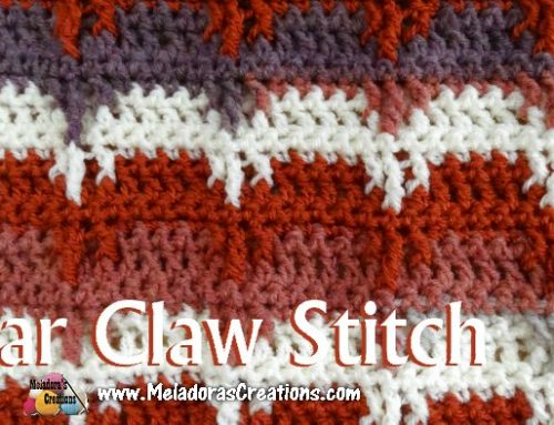 Bear Claw Crochet Stitch – Free Crochet Pattern