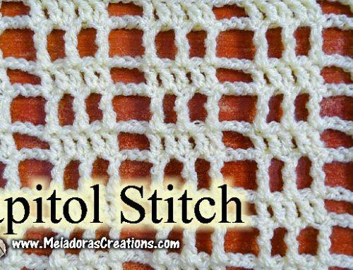 Capitol Crochet Filet Crochet – Free Crochet Pattern
