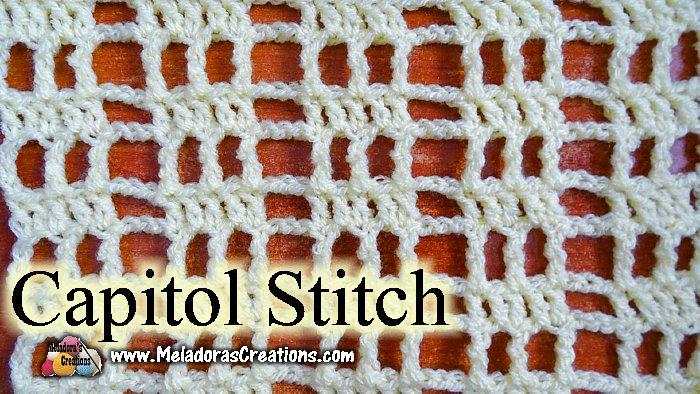 Capitol Crochet Filet Crochet Free Crochet Pattern Meladoras