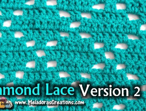 Diamond Lace Filet Crochet Stitch 2 – Free Crochet Tutorials