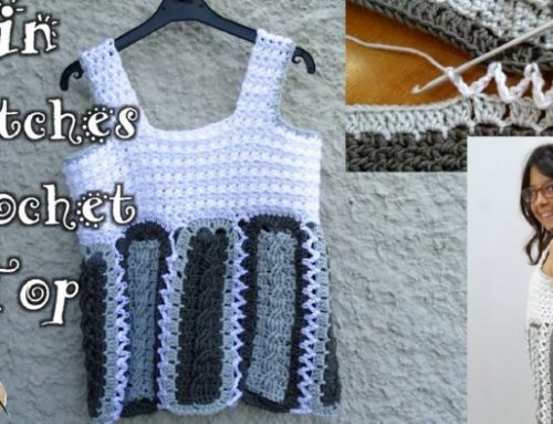 In Stitches Crochet Top – Free Crochet Pattern