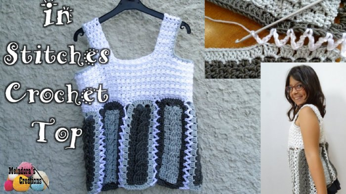 d3dc746ab072 In Stitches Crochet Top – Free Crochet Pattern - Meladora s Creations