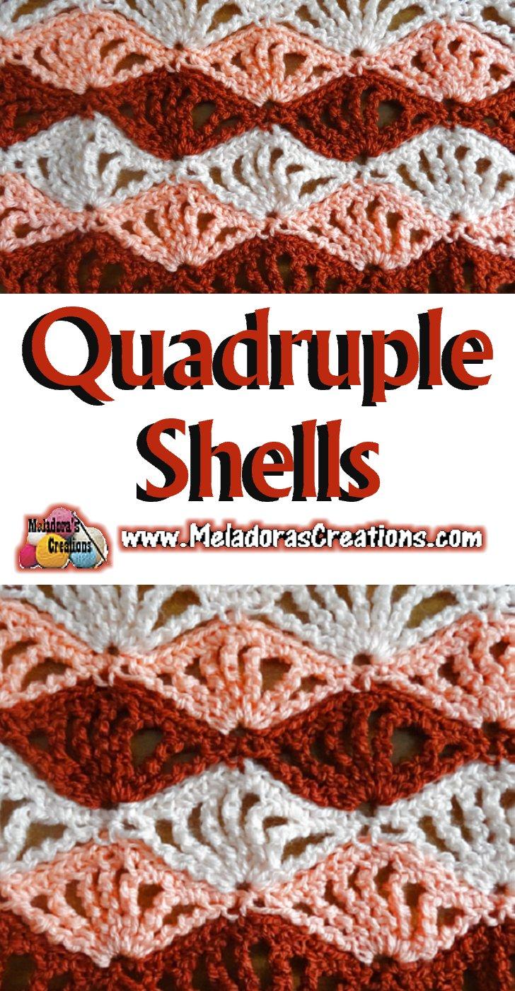Quadruple Shells – Free Crochet Pattern and Tutorial - Meladora\'s ...