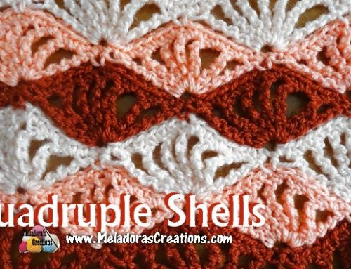 Quadruple Shells – Free Crochet Pattern and Tutorial