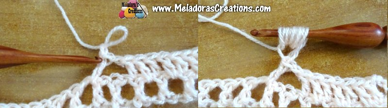 All your puff stitches in a row - Free crochet pattern