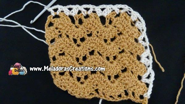Lacy Child Crochet Capelet - Lacy Ripple Child Cape - Free Crochet pattern