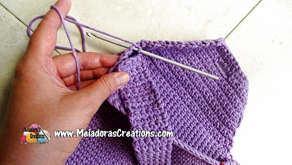 Crochet Jean Purse - Jean Yarn Bag - Free Crochet pattern and Tutorial