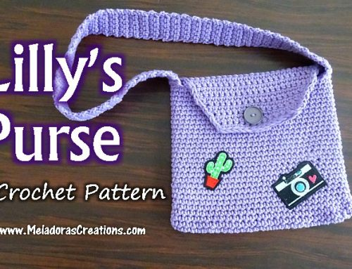 Lilly's Little Jean Purse – Free Crochet pattern and Tutorial