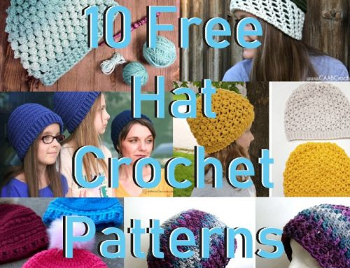 10 Free Crochet Hat Patterns – 2018