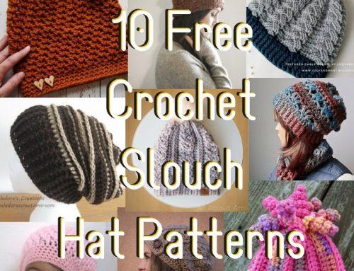 10 Free Crochet Slouch Patterns – 2018
