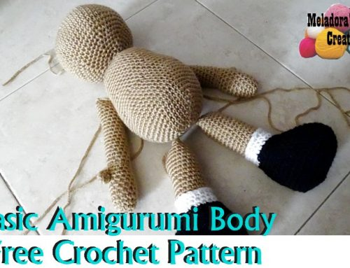 Basic Amigurumi Doll Body – Free Crochet Pattern
