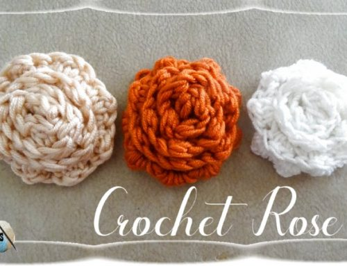 Crochet Rose – Free Crochet pattern