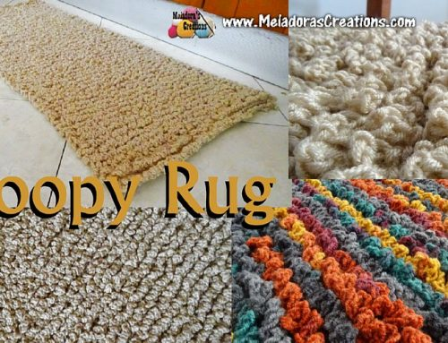 Loopy Rug– Free Crochet pattern and Tutorial