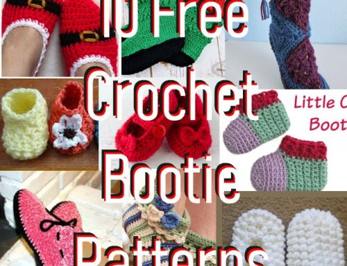 10 Free Crochet Bootie Patterns – Link Blast
