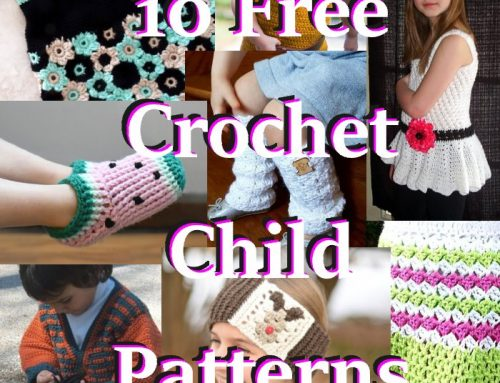 10 Free Crochet Child Size Patterns – Link Blast