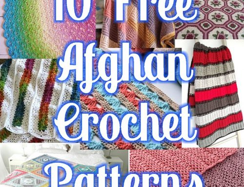 10 Free Afghan Crochet Patterns – Round up Link Blast