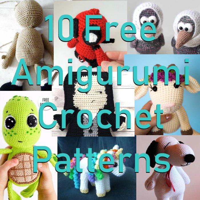 10 Free Amigurumi Crochet Patterns Link Blast Meladoras Creations