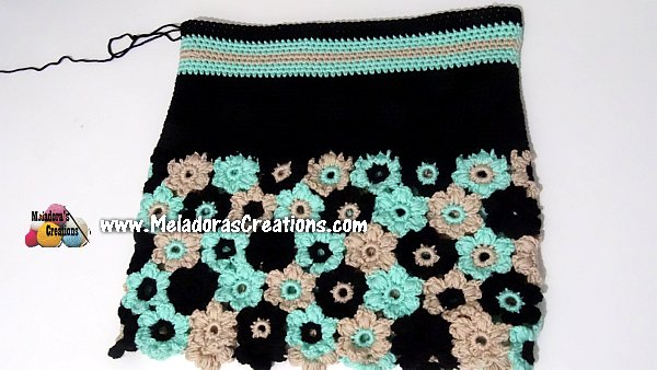 Flower Sweater Crochet CAL - PART TWO - Creating the Top