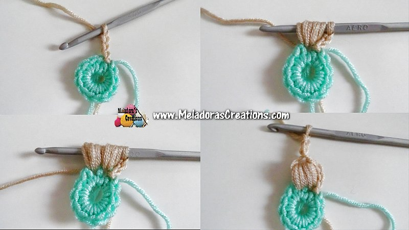 Flower Sweater Crochet CAL - PART ONE - The Flowers & Attaching them