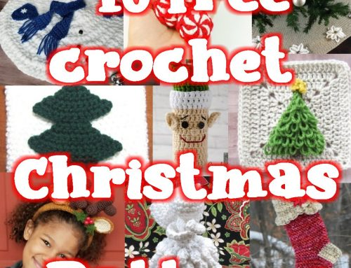10 Free Christmas Crochet Patterns – Link blast Round up
