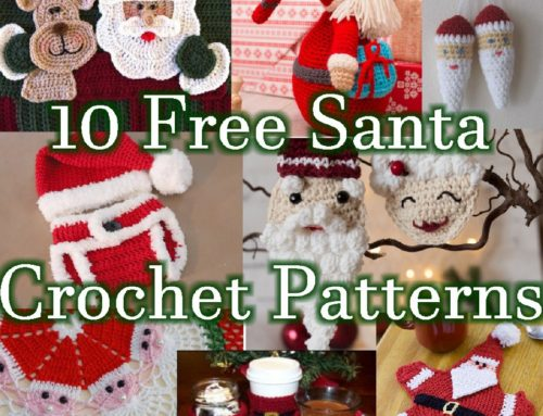10 Free Santa Crochet Patterns – Christmas Link Blast