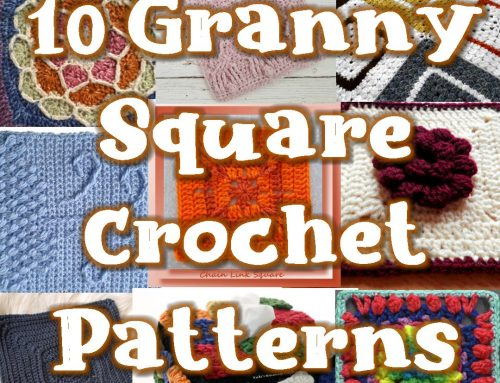 10 Free Granny Square Crochet Patterns – Link Blast Round up