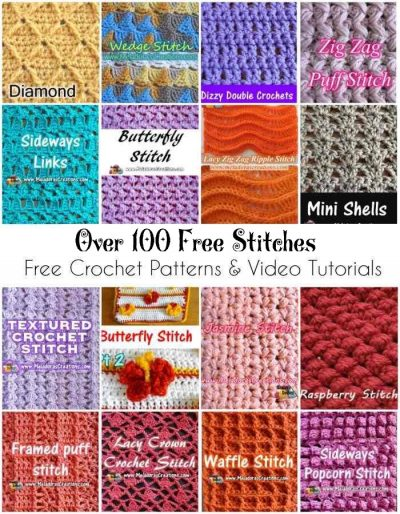 Crochet Stitches Archives Meladoras Creations