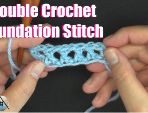 Double Crochet Foundation Stitch Tutorials DCFS