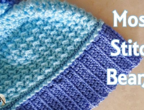 Moss Stitch Beanie has been Refurbished – Crochet Pattern and Tutorial in HD