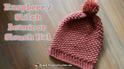 Slouch Hat Crochet Pattern