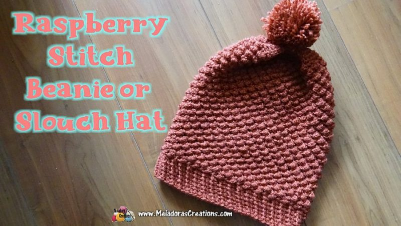 9d235171d87 Raspberry Stitch Slouch Hat Refurbished – Crochet Pattern and Tutorial