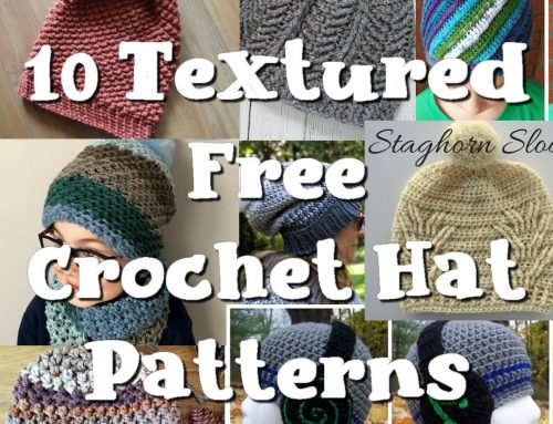 10 Free Crocheted Hat Patterns – Round up Link Blast