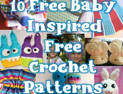10 Free Baby Inspired Free Crochet Patterns – Link Blast