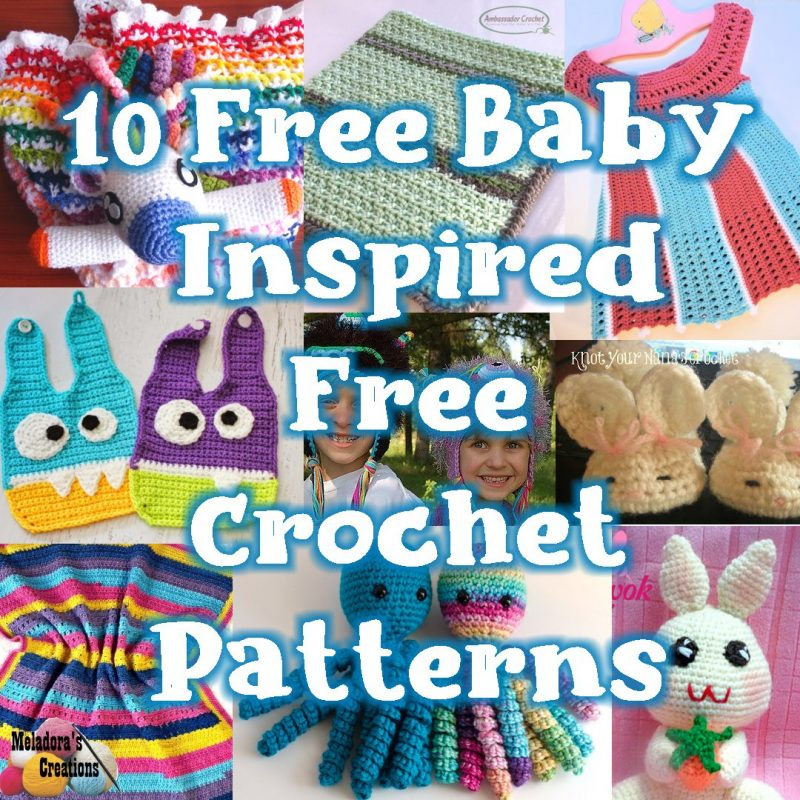 10 Free Baby Inspired Free Crochet Patterns Link Blast