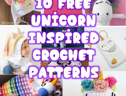 10 Free Unicorn Inspired Crochet Patterns – Link Blast