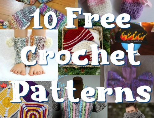 10 Free Crochet Patterns – Oldies but Goodies – Link Blast Round up