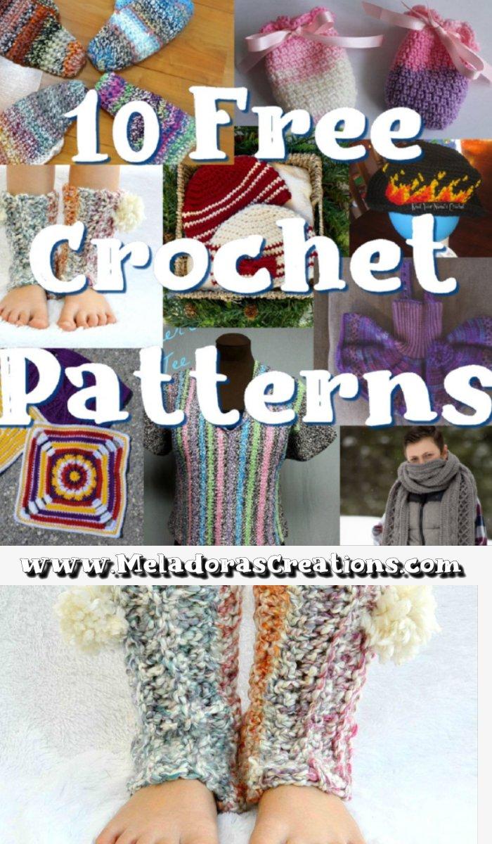 10 Free Crochet Patterns - Oldies but Goodies - Link Blast Round up