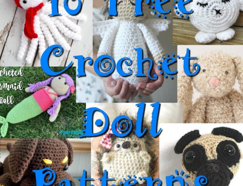 10 Free Doll Crochet Patterns – Crochet Link Blast Pattern Round up
