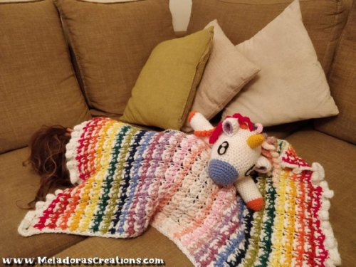 Crochet Unicorn Lovey - CAL Part 1 – Free Crochet Pattern