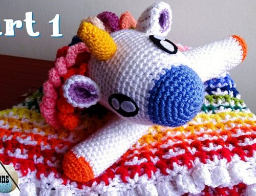 Crochet Unicorn Lovey – CAL Part 1 – Free Crochet Pattern